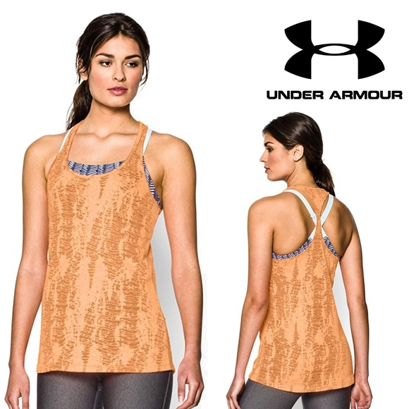 Under Armour Tops - Under Armour Tri-Blend Slub Racerback Tank Top